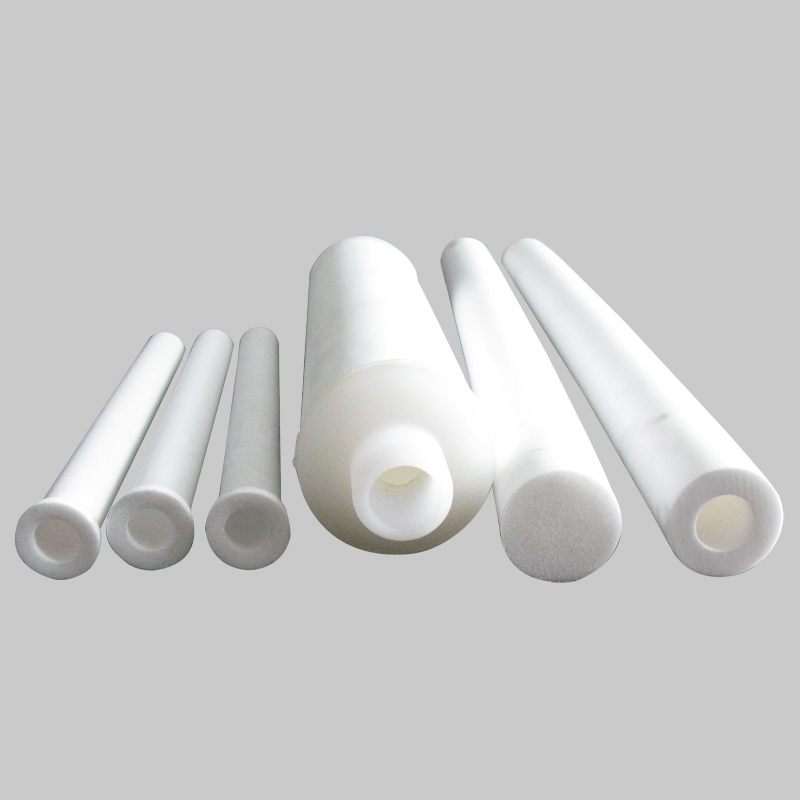 YTPTFESJ Series — PTFE Sintered Filter Cartridge