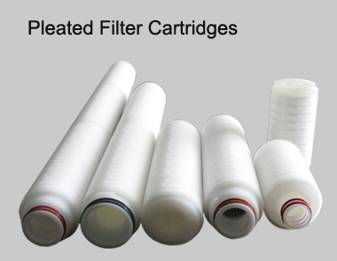 China Filter Cartridge Pleated Filter Cartridge