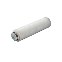 PES pleated filter cartridges