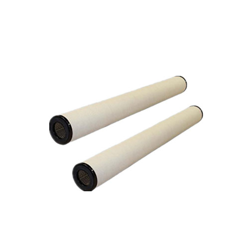 String wound condensate treatment filter cartridges